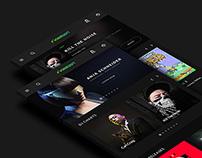 Beatport ⋮ Redesign concept