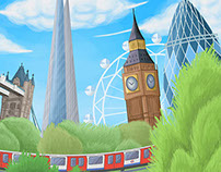 The Prize for Illustration - London Places & Spaces