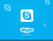 """Skype """"Material"""" for Android"""