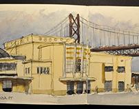 A year of Urban-Sketching