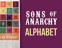 Sons of Anarchy Alphabet