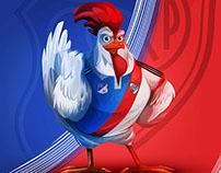 Poster para el partido Millonarios v.s. River Plate