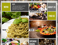 Glaze Restaurant & Bar Responsive WordPress Theme