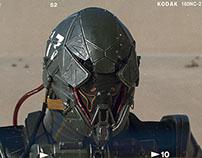 Paratrooper armor design