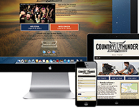 Responsive :Country Thunder
