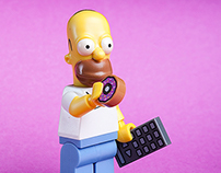 LEGO : Simpsons