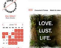 New York Philharmonic - Vixen Homepage