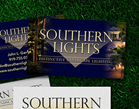 Branding Southern Lights - Landscape Lighting