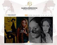 MARISA BERENSON -  Webdesign
