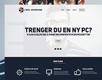 Data-Ekspertene   Web design