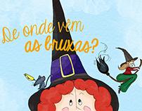De onde vêm Bruxas? - Childrens' Book