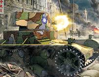 Vickers Mk E (artwork)