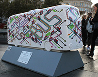 TfL Year of the Bus Sculpture Trail Design