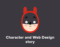Kids Protection - Character and Web Design story