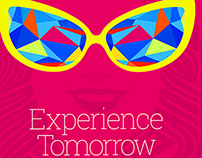 """Experience Tomorrow"", poster Design for Samsung."