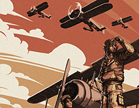 The Night of The Biplanes | Comic