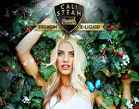 Cali Steam Premium E-Liquid Branding