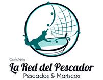 Logo for La Red del Pescador. Restaurant in Lima, Peru.