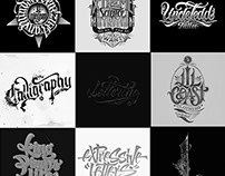Digital Lettering Projects