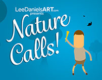 'Nature Calls' - LeeDanielsART Animation