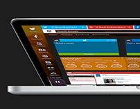 Kast, a browser concept.