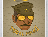 Moral Police - Kulture Shop Collaboration