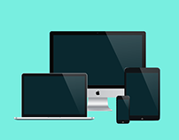 Freebie - Modern Realistic Devices Mockup