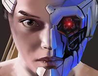 robotic girl