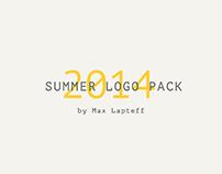 Summer logo pack 2014
