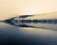 Photographic morning on the lake