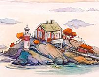 My Scandinavian sketches