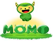 MOMO STICKERS FACEBOOK MESSENGER