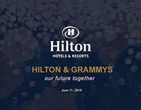 Grammy's Pitch Presentation Design