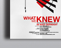 What We Knew: Poster