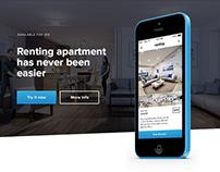 Rentico — iOS Mobile App Design, UI, Naming
