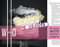 Glazed&Confused — Magazine Spread