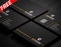 Line Corporate Business Card Template (FREE)