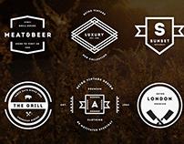 Vintage Logos & Badges Vol. 23