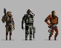Pixel Video Game Characters - High Score Society