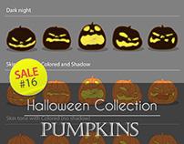 Sale#16: Halloween Collection - Pumpkins