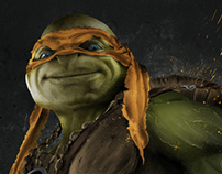 Legend of the Yokai - Michelangelo