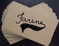 Farine Logo Design