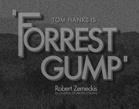 Forrest Gump Coffee Table Book
