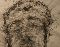 Charcoal Self-Portraits