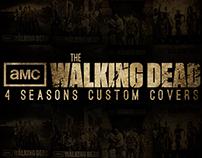 The Walking Dead 4 custom covers