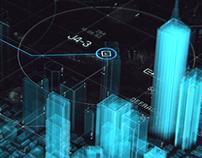 Holo-Optic City Display