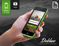 Deblue – Social Network Application Design