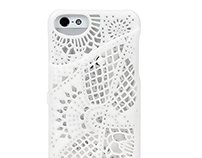 Lace case for IPhone5(S)