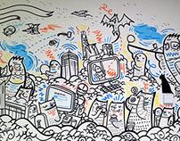 Sheffield University Students Union Murals