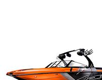 2014 Tigé Boats ASR wakeboat photo shoot